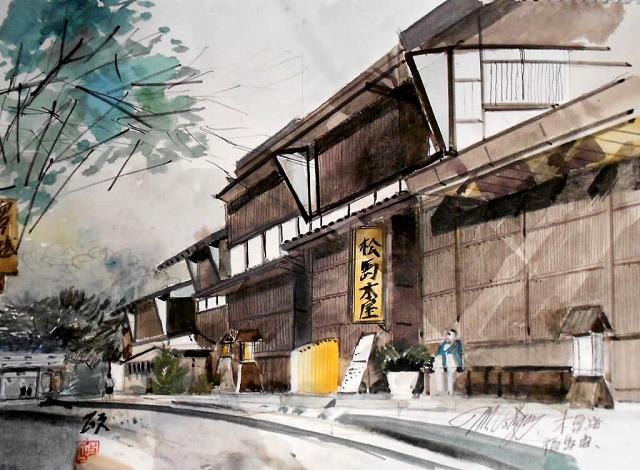 日本スケッチ画会(JSAA)/シンプルで爽やかな水彩画を目指す